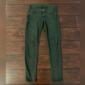 Hudson Forest Green Jeans
